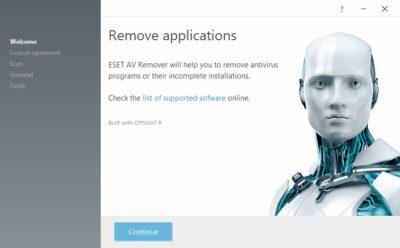 ESET AV Remover 1.2