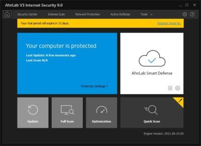 Лицензия AhnLab V3 Internet Security